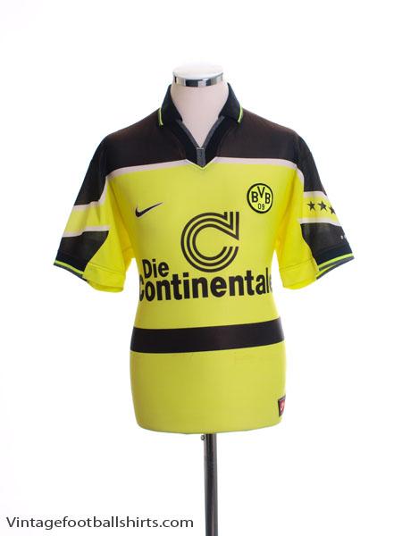 1997 Borussia Dortmund Home Shirt S