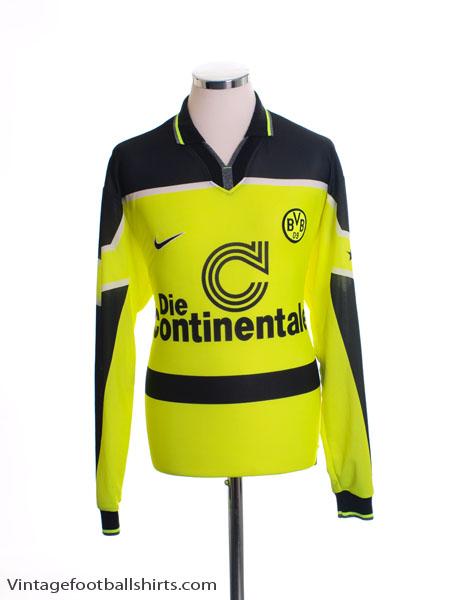 1997 Borussia Dortmund Home Shirt L/S S