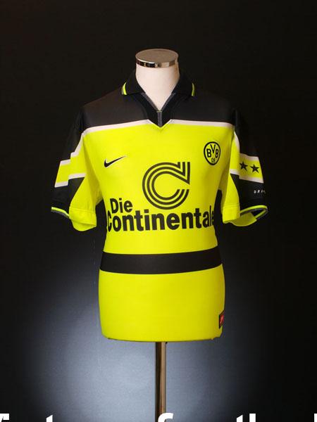 1997-98 Borussia Dortmund Home Shirt XL
