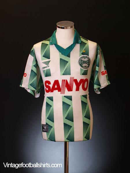 1997 Coritiba Away Shirt #10 L