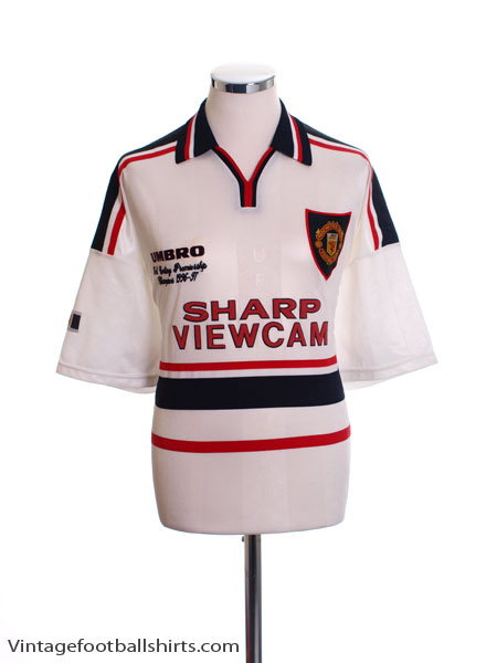 1997-99 Manchester United 'Premiership Champions' Away Shirt M