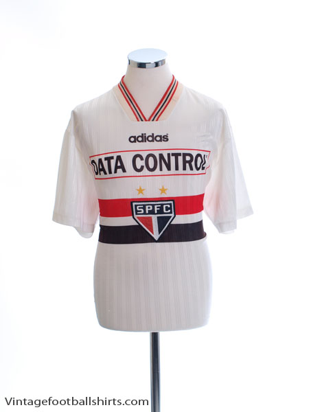 1997 Sao Paulo Home Shirt #24 XL