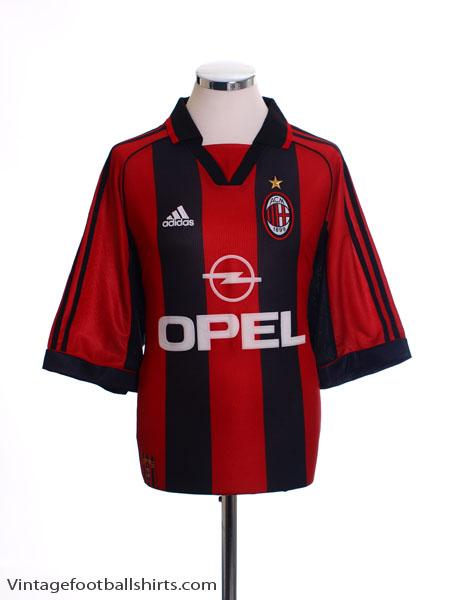 1998-00 AC Milan Home Shirt M
