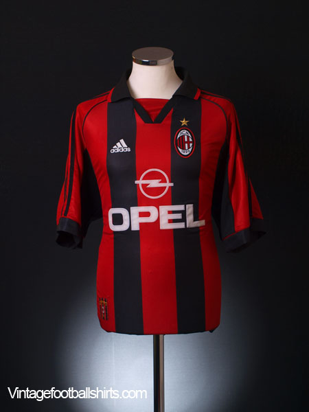 1998-00 AC Milan Home Shirt Y