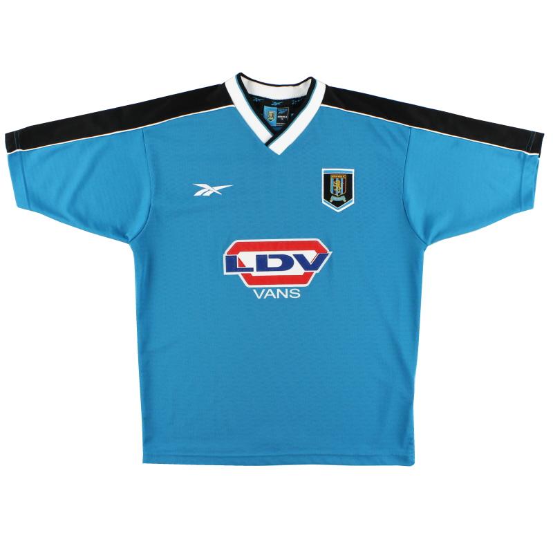1998-00 Aston Villa Away Shirt L