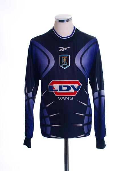 1998-00 Aston Villa Goalkeeper Shirt L/S M