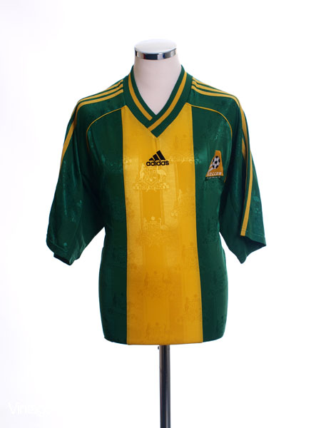 1998-00 Australia Home Shirt *Mint* L
