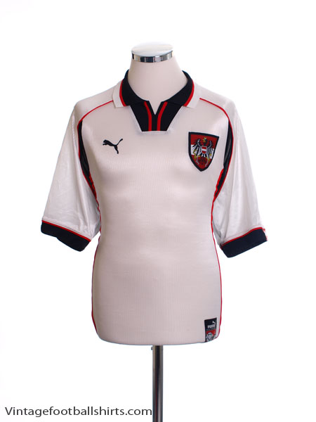 1998-00 Austria Home Shirt M