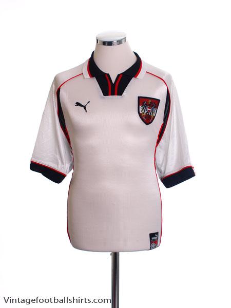 1998-00 Austria Home Shirt XL