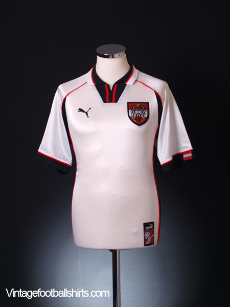 1998-00 Austria Home Shirt S