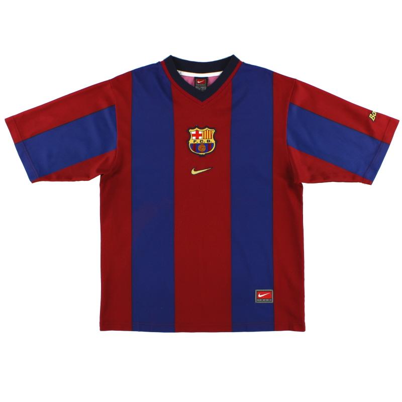 1998-00 Barcelona Basic Home Shirt XL