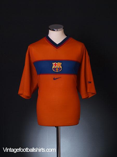1998-00 Barcelona Basic Third Shirt XL