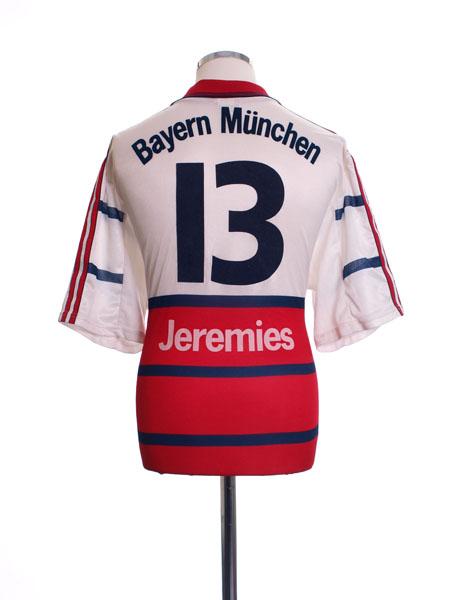 1998-00 Bayern Munich Away Shirt Jeremies #13 XL