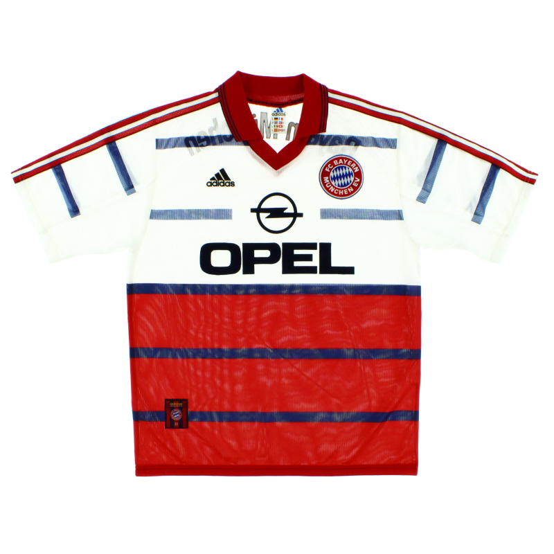 1998-00 Bayern Munich Away Shirt L