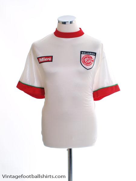 1998-00 Belarus Home Shirt L
