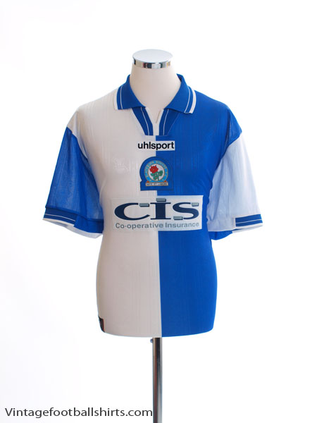 1998-00 Blackburn Home Shirt *Mint* L