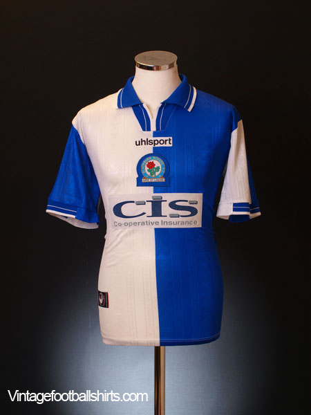 1998-00 Blackburn Home Shirt M