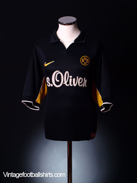 1998-00 Borussia Dortmund Away Shirt XL