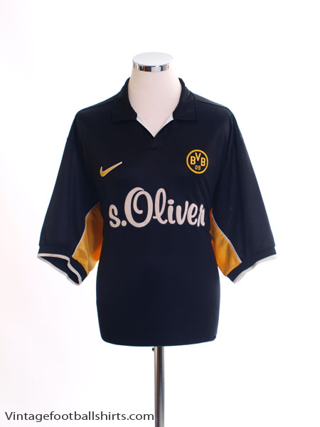 1998-00 Borussia Dortmund Away Shirt L