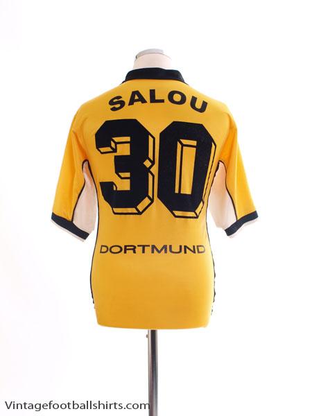 1998-00 Borussia Dortmund Home Shirt Salou #30 M