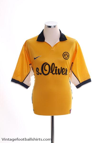 1998-00 Borussia Dortmund Home Shirt M