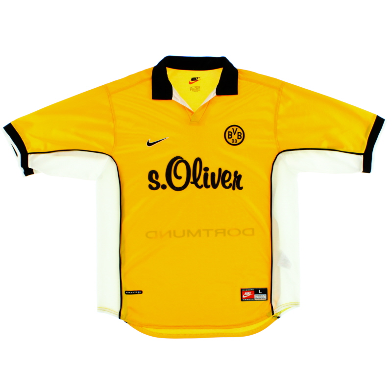 1998-00 Borussia Dortmund Home Shirt L