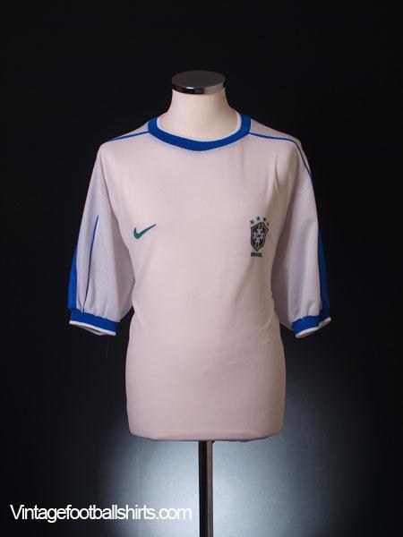 1998-00 Brazil Third Shirt XL
