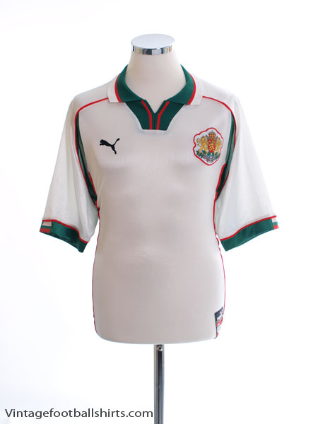 1998-00 Bulgaria Home Shirt M