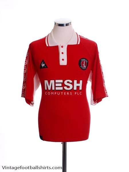 1998-00 Charlton Home Shirt Y