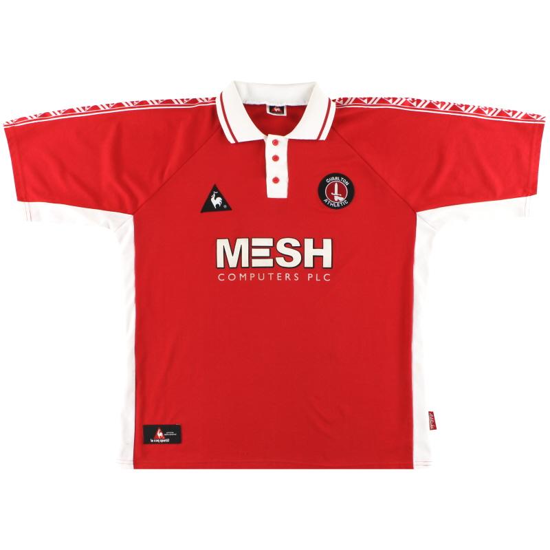 1998-00 Charlton Le Coq Sportif Home Shirt XL