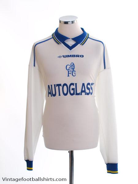 1998-00 Chelsea Away Shirt L/S XL