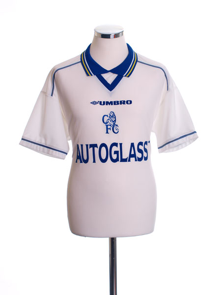 1998-00 Chelsea Away Shirt M
