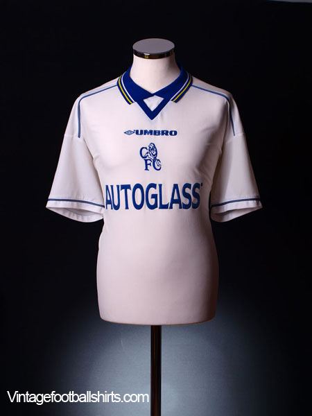 1998-00 Chelsea Away Shirt XL