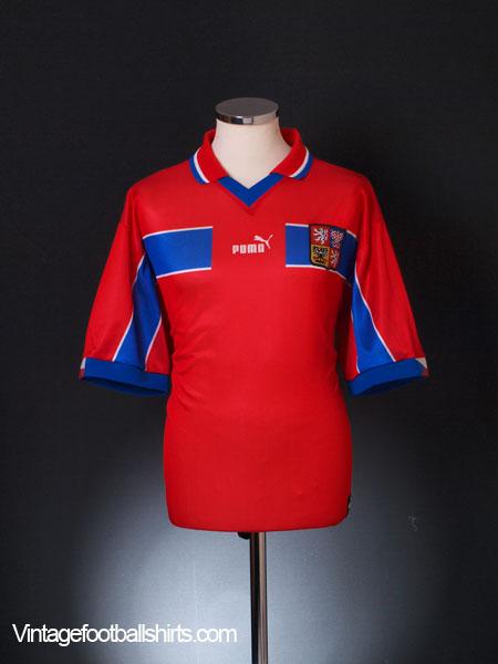 1998-00 Czech Republic Home Shirt L