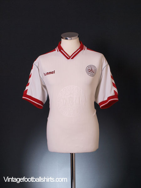 1998-00 Denmark Away Shirt M