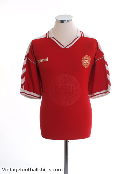 1998-00 Denmark Home Shirt XL