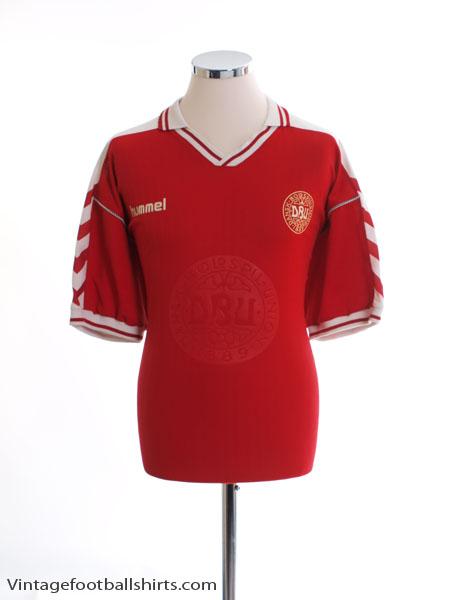 1998-00 Denmark Home Shirt L