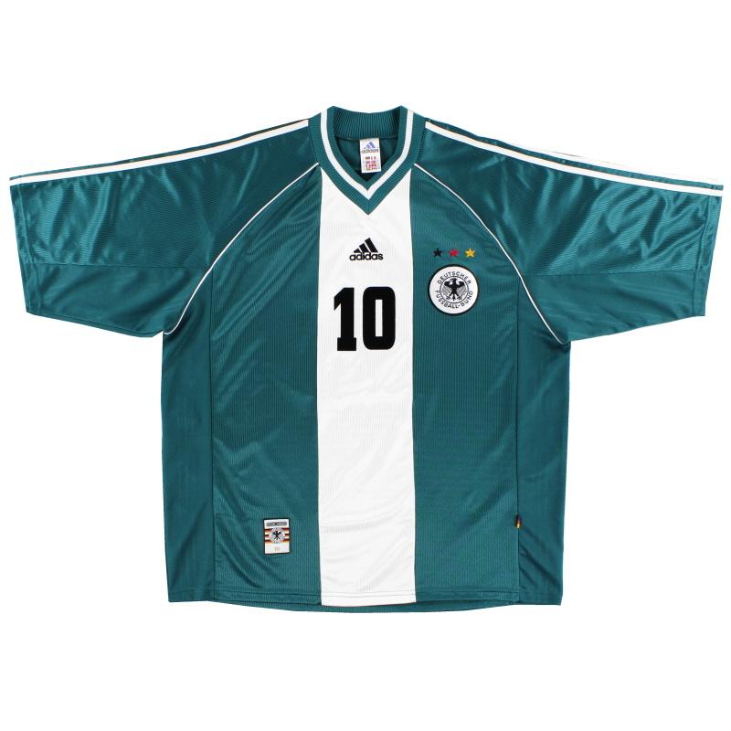 1998-00 Germany Away Shirt #10 XL