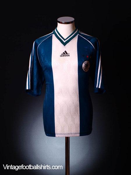 1998-00 Germany Away Shirt *Mint* L