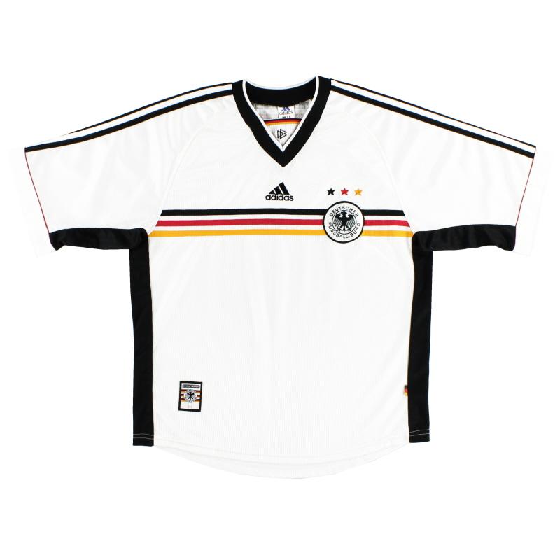 1998-00 Germany adidas Home Shirt XXL - 604848