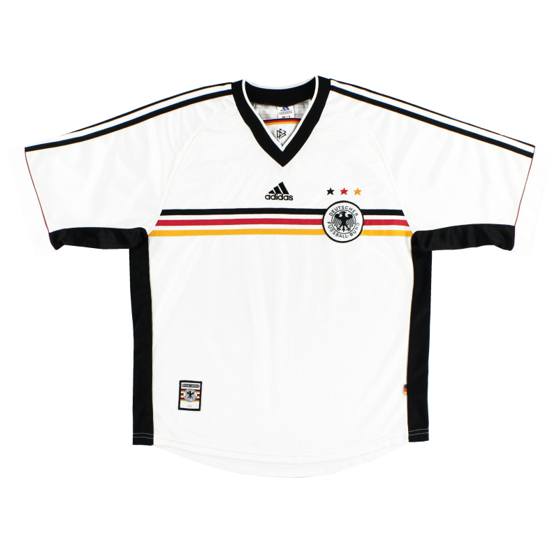 1998-00 Germany Home Shirt Y