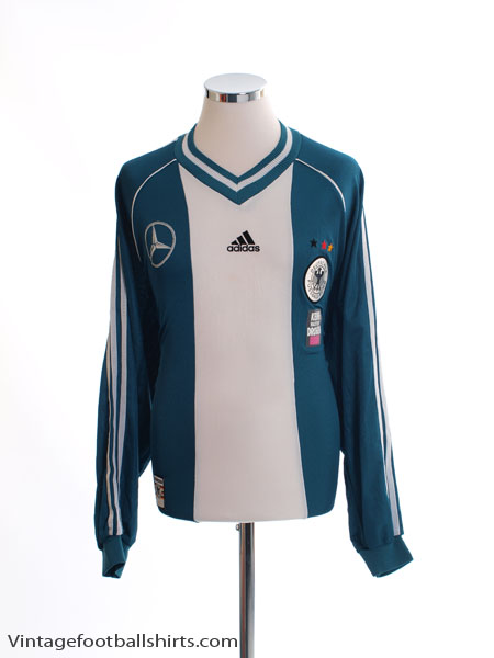 1998-00 Germany Player Issue Away Shirt L/S XL