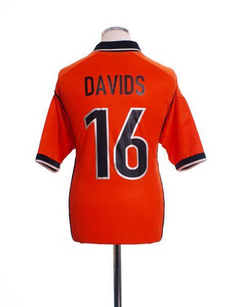 1998-00 Holland Home Shirt Davids #16 L