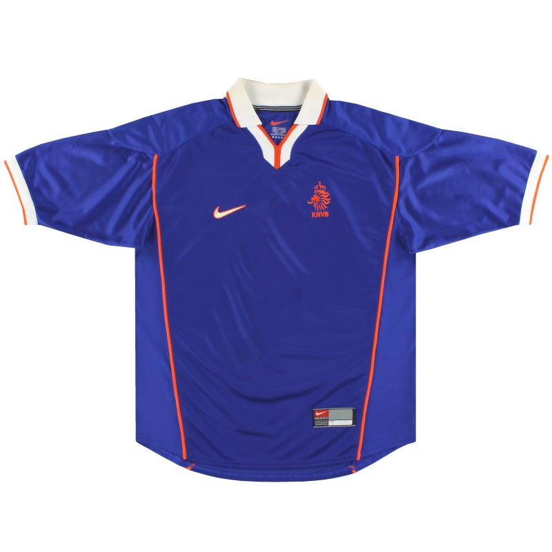 1998-00 Holland Nike Away Shirt L