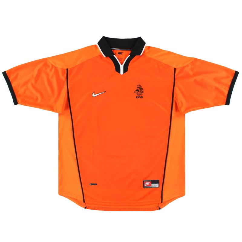 1998-00 Holland Nike Home Shirt XL