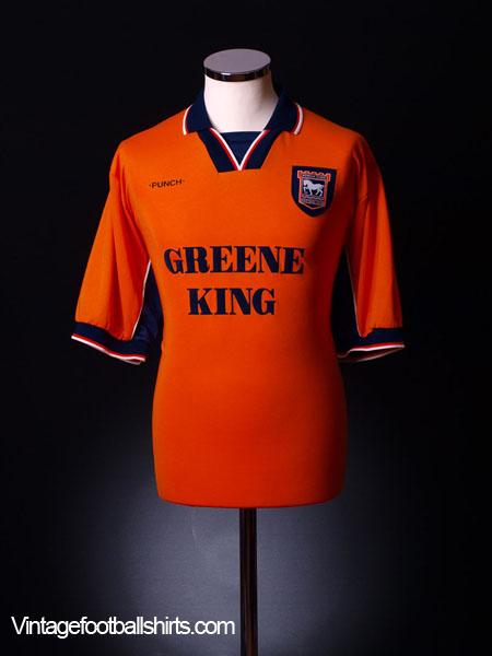 1998-00 Ipswich Away Shirt L