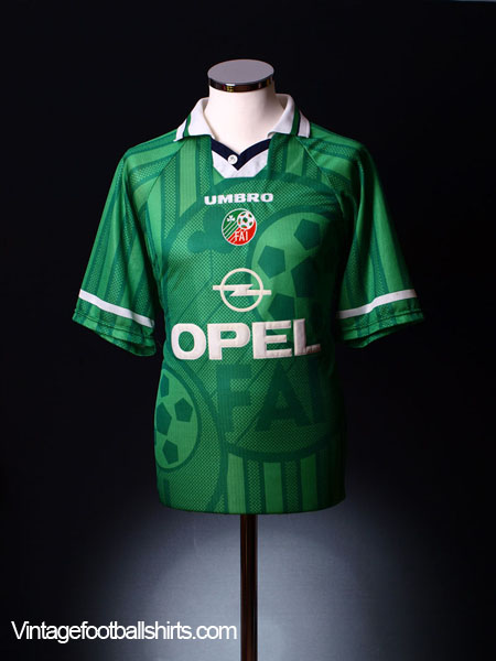 1998-00 Ireland Home Shirt L