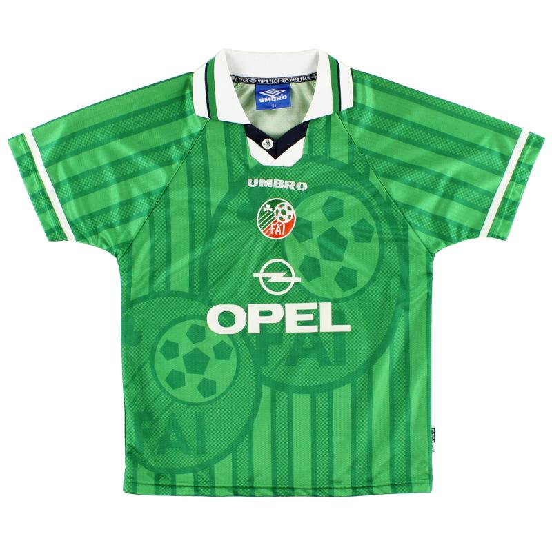1998-00 Ireland Home Shirt Y