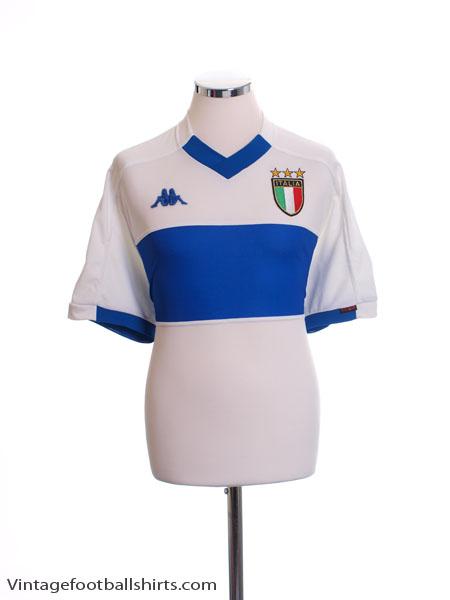 1998-00 Italy Away Shirt L