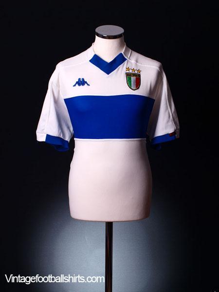 1998-00 Italy Away Shirt M